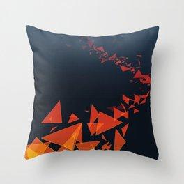 Submerged in Autumn Throw Pillow