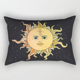 sun flower Rectangular Pillow