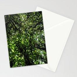 umbrella of trees Stationery Cards