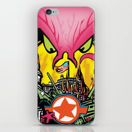 INVASION iPhone Skin