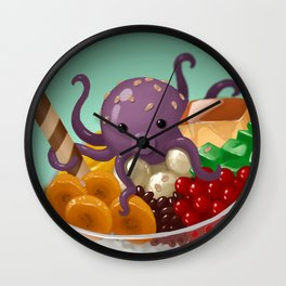 Halo Haloctopus Wall Clock
