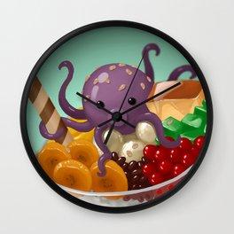 Halo Haloctopus Wall Clock