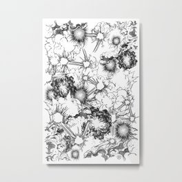 Explosions Metal Print