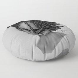 Locs style Floor Pillow