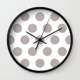 Big Dots 1 Wall Clock