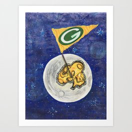 Packers dream Art Print