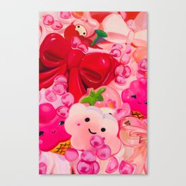 Thoughts on Being Agreeable Canvas Print