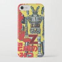 manga iPhone & iPod Cases featuring Manga 01 by Zuno