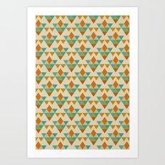 Retrospect, Triangle Nonet, No. 03 Art Print