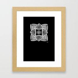 Mimbres Series - 11 Framed Art Print