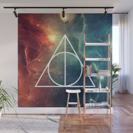 Deathly Hallows Nebula HP Wall Mural
