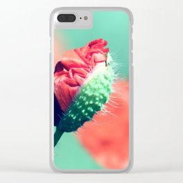 Poppy 2 Clear iPhone Case