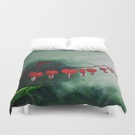 Every Heart Leads to Heaven by Teresa Thompson Duvet Cover