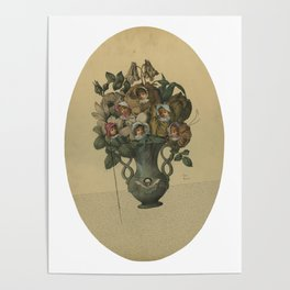 Crooked Bouquet Poster