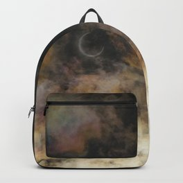 Solar Eclipse and Clouds Backpack