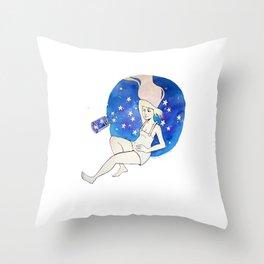 Starspill Throw Pillow