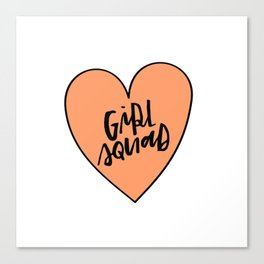 Girl Squad Canvas Print