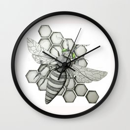 Honeybee Wall Clock