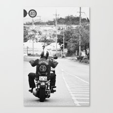 GoGo Harley Canvas Print