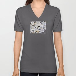One, Two,Three. . . Six Degrees of Connection With Daimoku Unisex V-Neck
