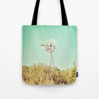 american beauty Tote Bags featuring American Beauty Vol 13 by Farmhouse Chic