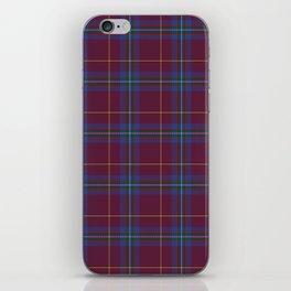 Da Vinci Rosslyn Rose Tartan iPhone Skin