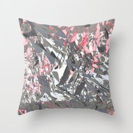 Graphic lines Throw Pillow