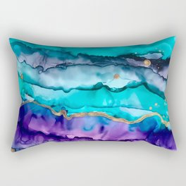Rainbow Fluorite Rectangular Pillow