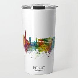 Beirut Lebanon Skyline Travel Mug
