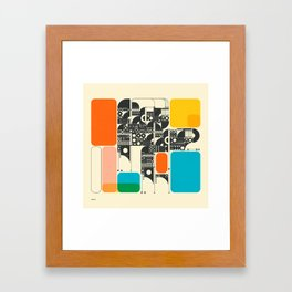 SYSTEMS (17) Framed Art Print