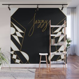 Deco Jazzy Wall Mural