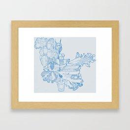 Narrowboating Framed Art Print