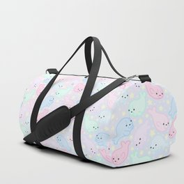 Pastel Seals Duffle Bag