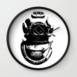 Diving Helmet Wall Clock