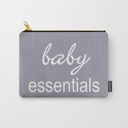 Baby Essentials Pantone 2016-Lilac Gray Carry-All Pouch