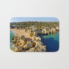 The Algarve coast Bath Mat