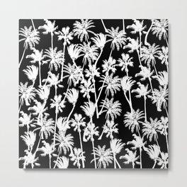 messy  palm trees Metal Print