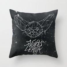 FIG. 837 (vulpes zerda) Throw Pillow