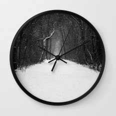 Snow White Morning Wall Clock