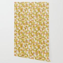 Tetris Camouflage Desert Wallpaper