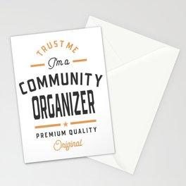 I'm a Community Organizer Stationery Cards