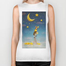 Reach for the stars  Biker Tank