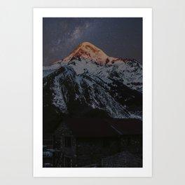 Caucasus Mountain Art Print