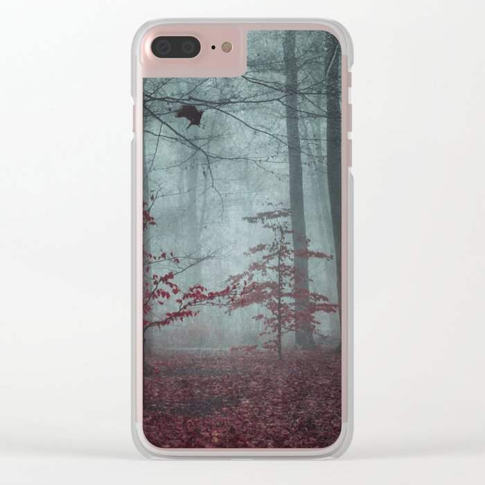 here comes the feaR Clear iPhone Case
