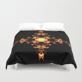 Fire Cross Duvet Cover