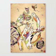 That Bike Ain't Gonna Ride Itself Canvas Print