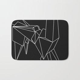 Origami Unicorn Bath Mat