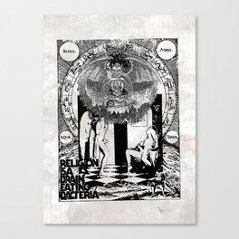 DarkMatter | TABVLA XXVIII Canvas Print