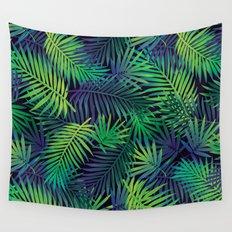 Jungle Night Wall Tapestry