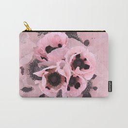 Poppies in the pink Carry-All Pouch